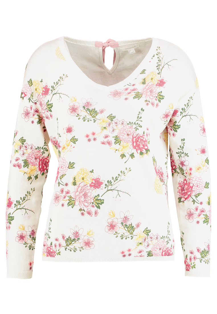 Springfield ALLOVER Sweter ivory - 1333879