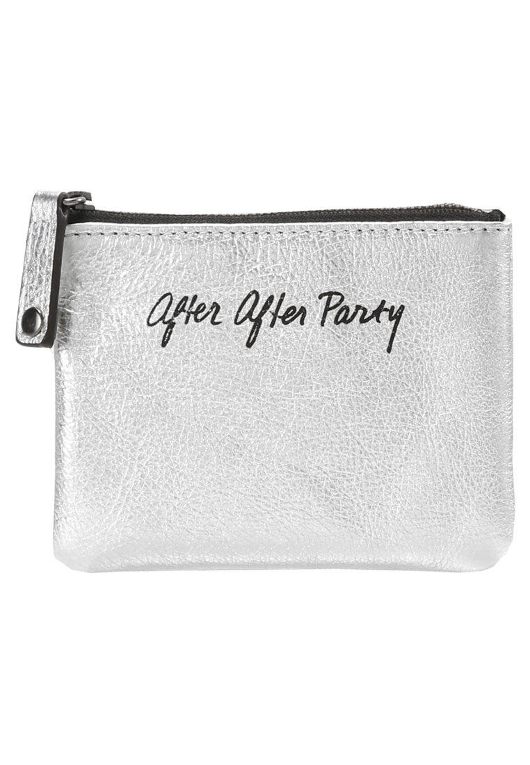 Rebecca Minkoff BETTY POUCH AFTER THE PARTY Portfel silver - SH17GPOP2L