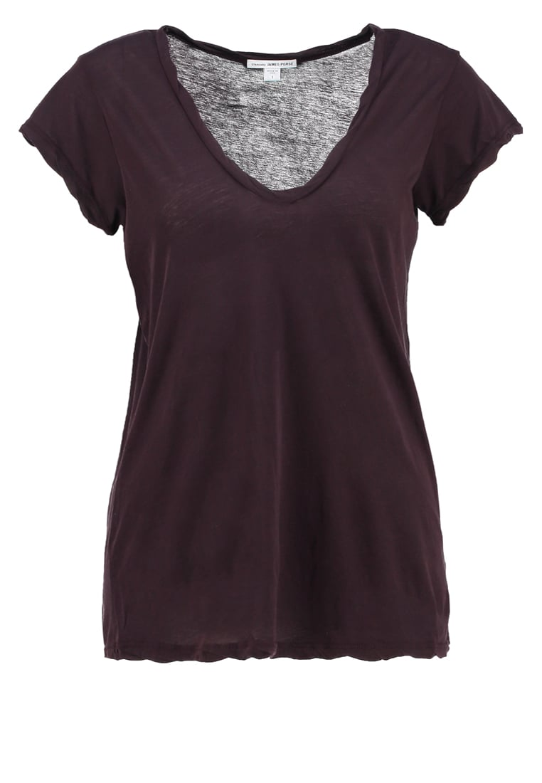 James Perse Tshirt basic fig - WEK3182