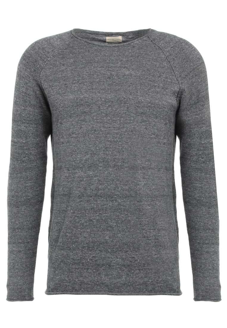 Selected Homme CLASH Sweter grey - 16047273