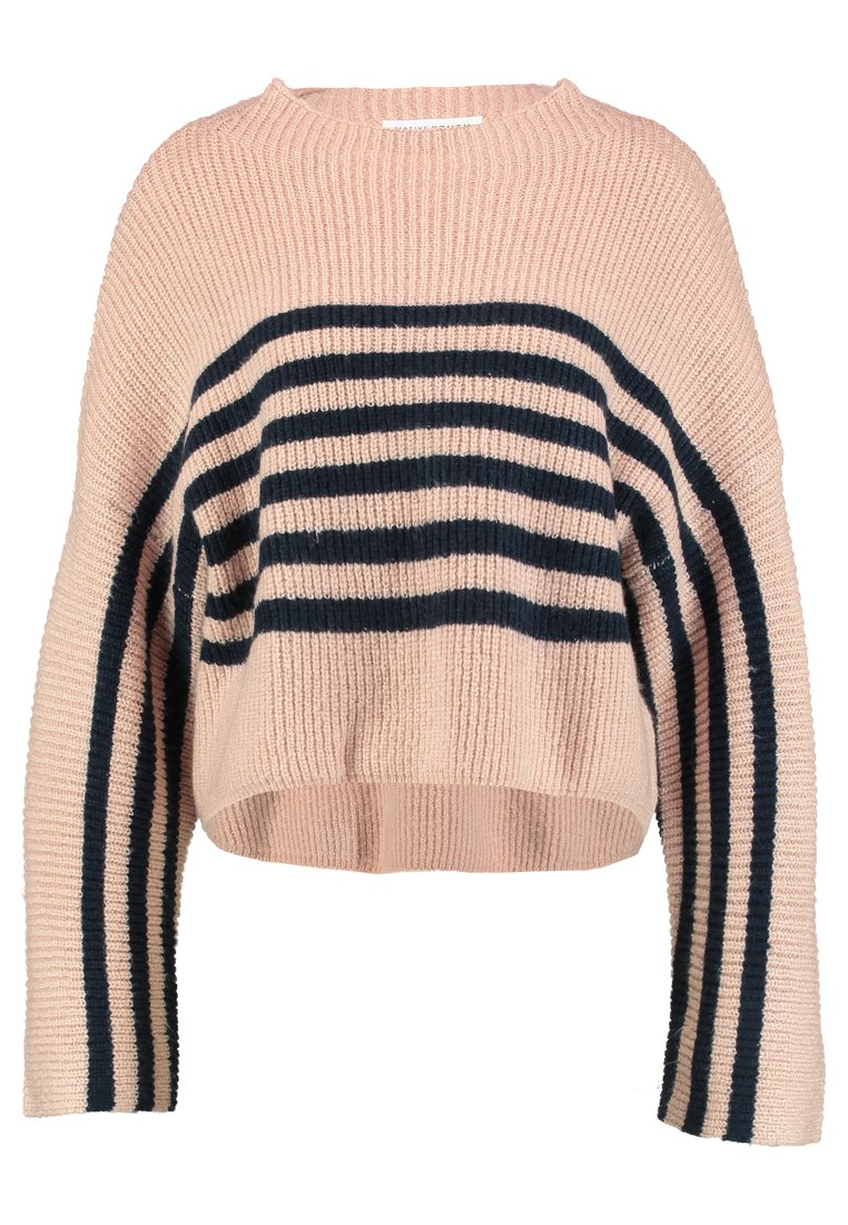 Native Youth ARCHES Sweter pink/navy - NYWKN65 SS18