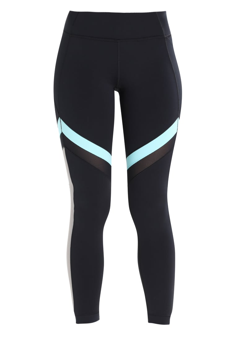 Under Armour Legginsy black/blue infinity