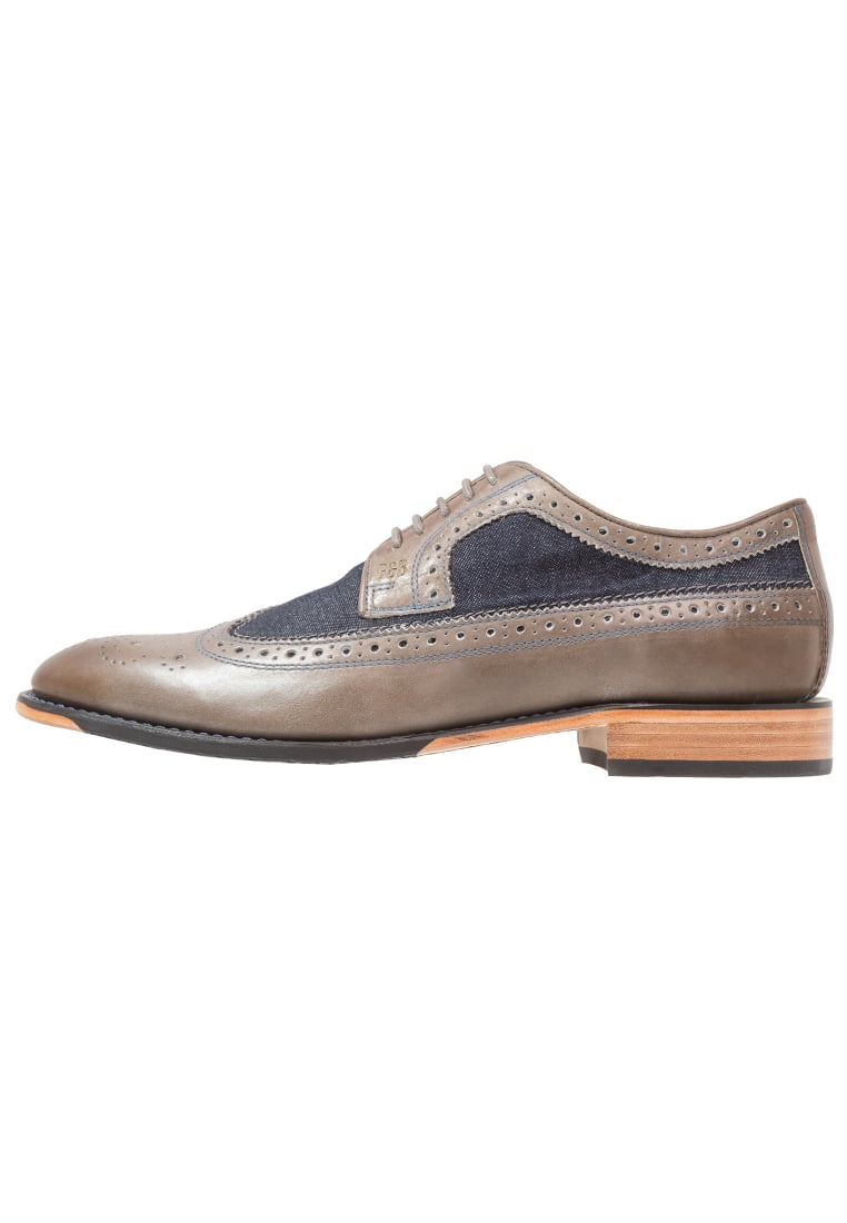 Gordon and Bros MIRCO Eleganckie buty grey - S160740