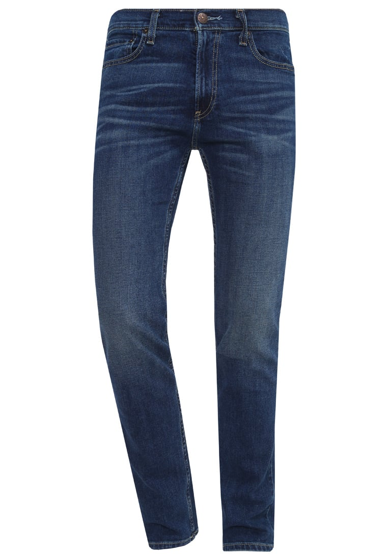Hollister Co. Jeans Skinny Fit blue denim - KI331-6403