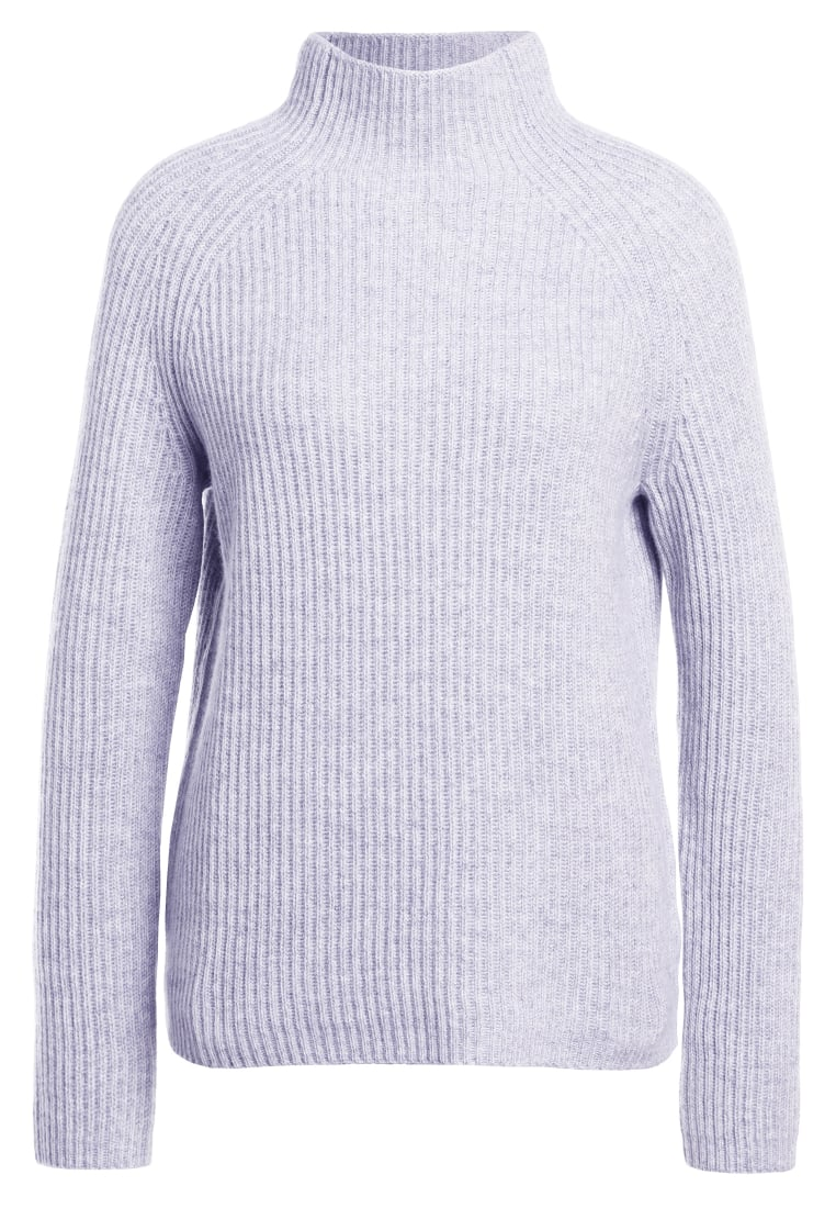 FTC Cashmere HIGHNECK Sweter silver stone - 680-0300