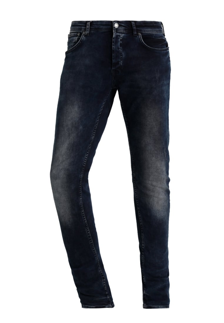 Chasin' EGO Jeansy Slim fit raven - 1111242030