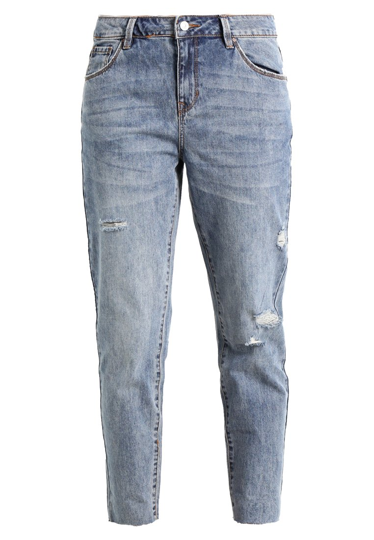 Springfield BOYFRIEND ROTOS Jeansy Relaxed Fit blues - 6823424