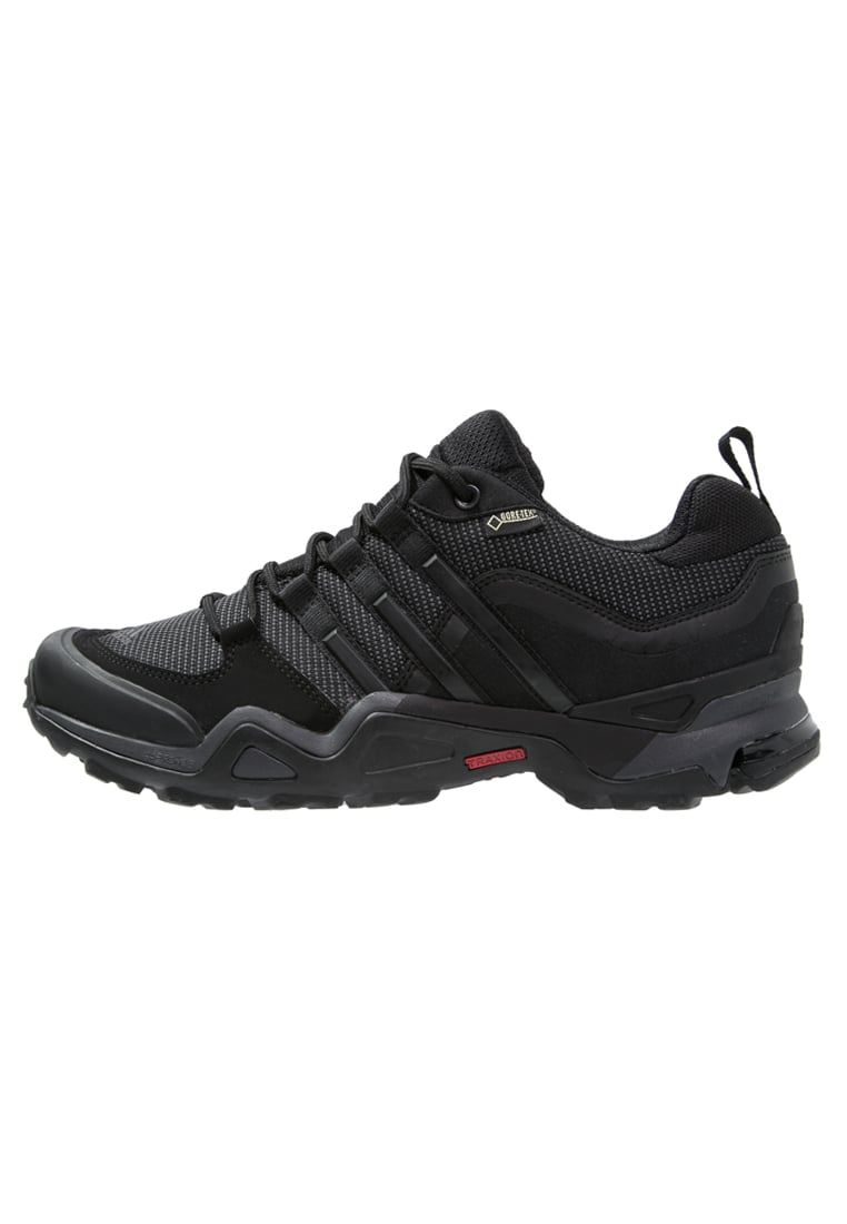 adidas Performance FAST X GTX Półbuty trekkingowe core black/dark grey/power red - IUV88