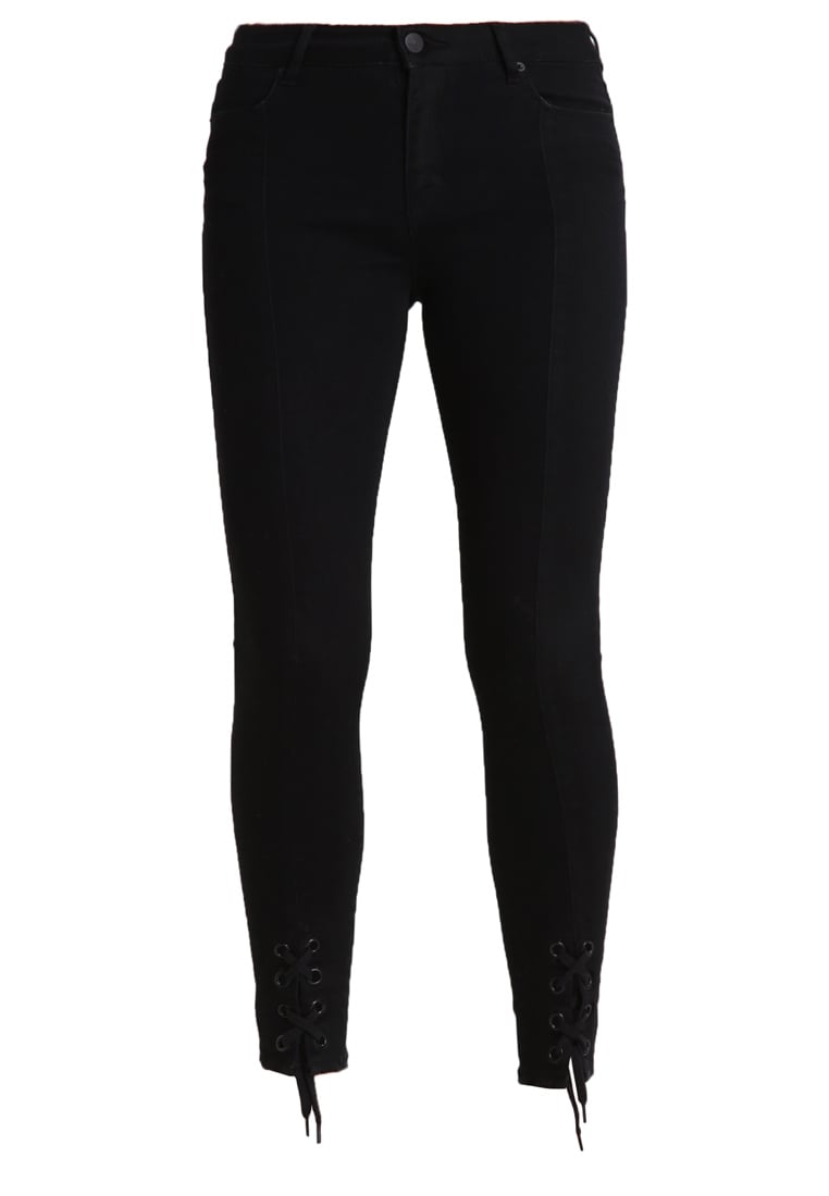 2ndOne NICOLE Jeans Skinny Fit satin black - 10526