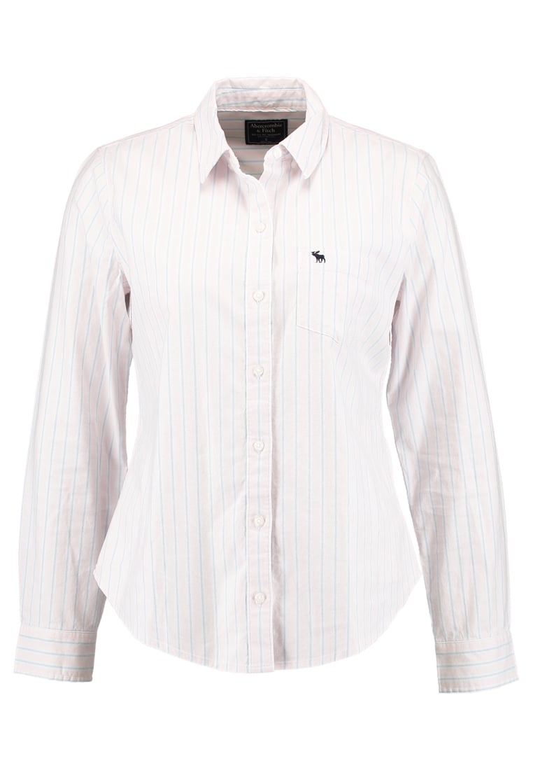 Abercrombie & Fitch TAILORED FIT OXFORD Koszula pink - KI140-7320