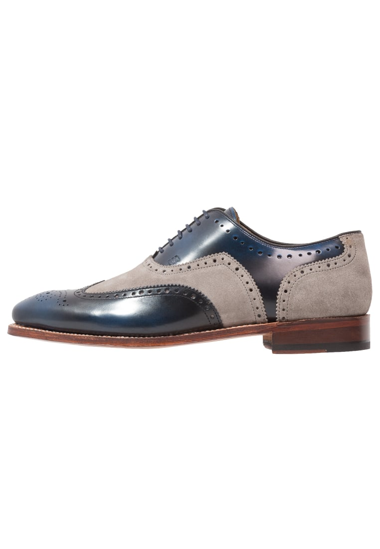 Gordon and Bros FABIEN Oksfordki blue/grey - 3859