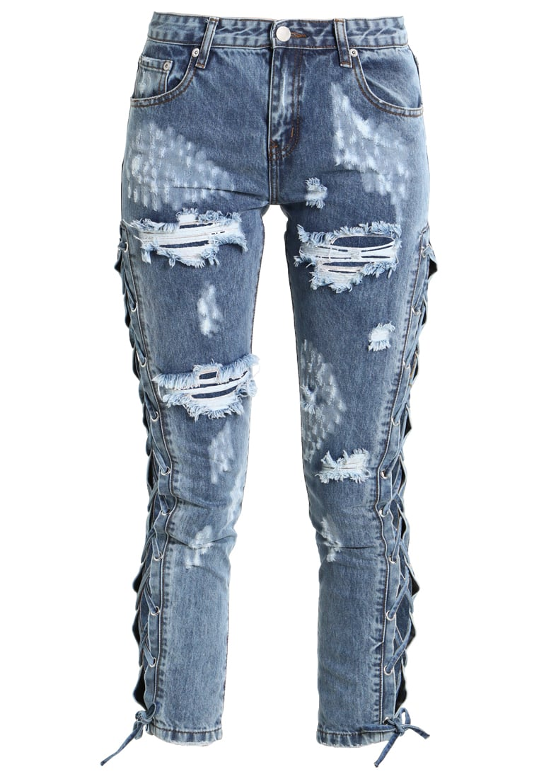 Glamorous Jeans Skinny Fit blue acid wash - AN3267