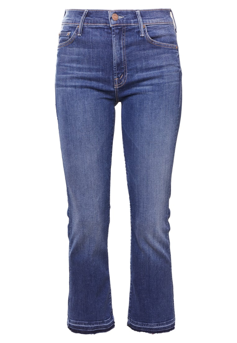 Mother THE INSIDER CROP UNDONE Jeansy Bootcut blue denim - 1217-104