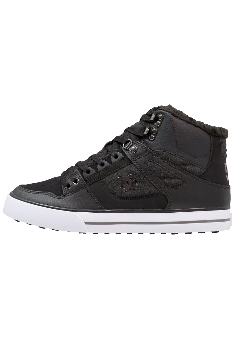 DC Shoes PURE HIGH WC WNT Buty skejtowe black/armor - ADYS400005