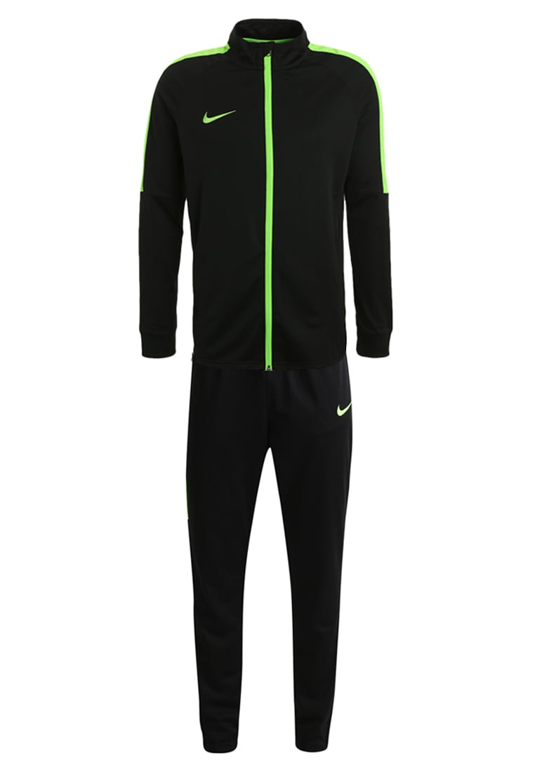 Nike Performance ACADEMY SET Dres black/electric green - 844327