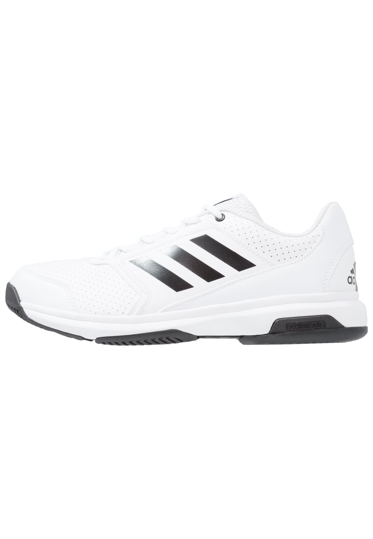 adidas Performance ADIZERO ATTACK Buty do tenisa Outdoor white/core black - KDJ52