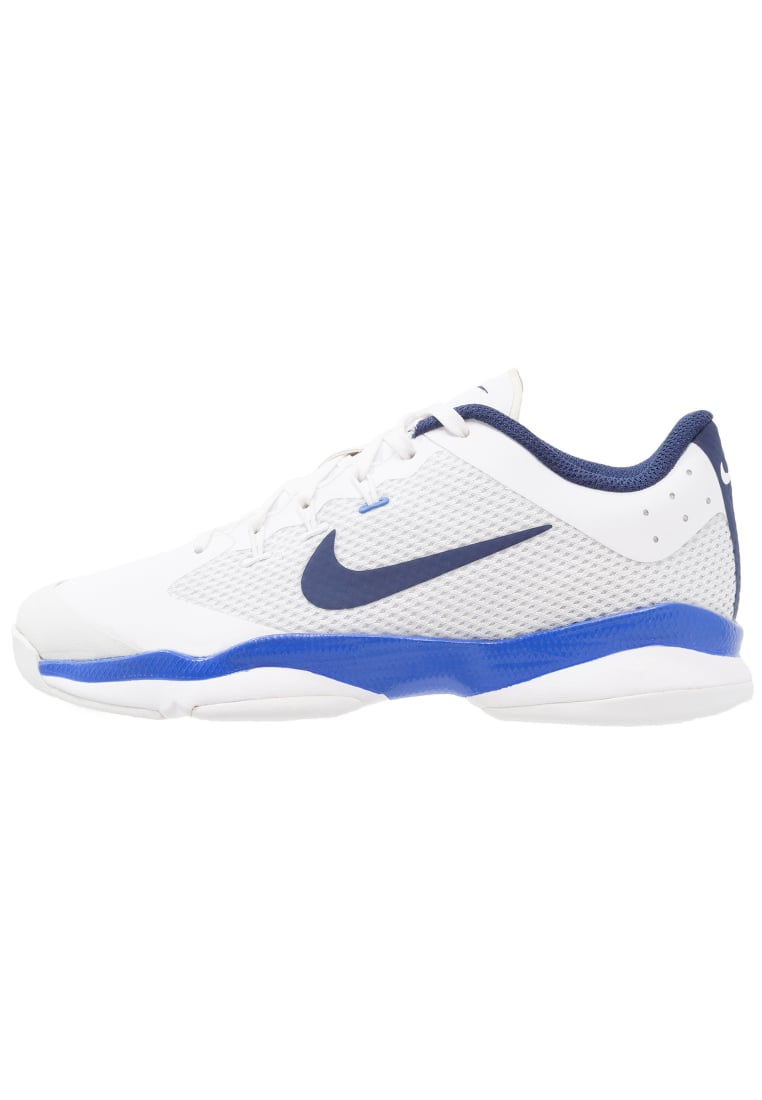 Nike Performance AIR ZOOM ULTRA CPT Buty do tenisa Indoor white/binary blue/mega blue - 918200