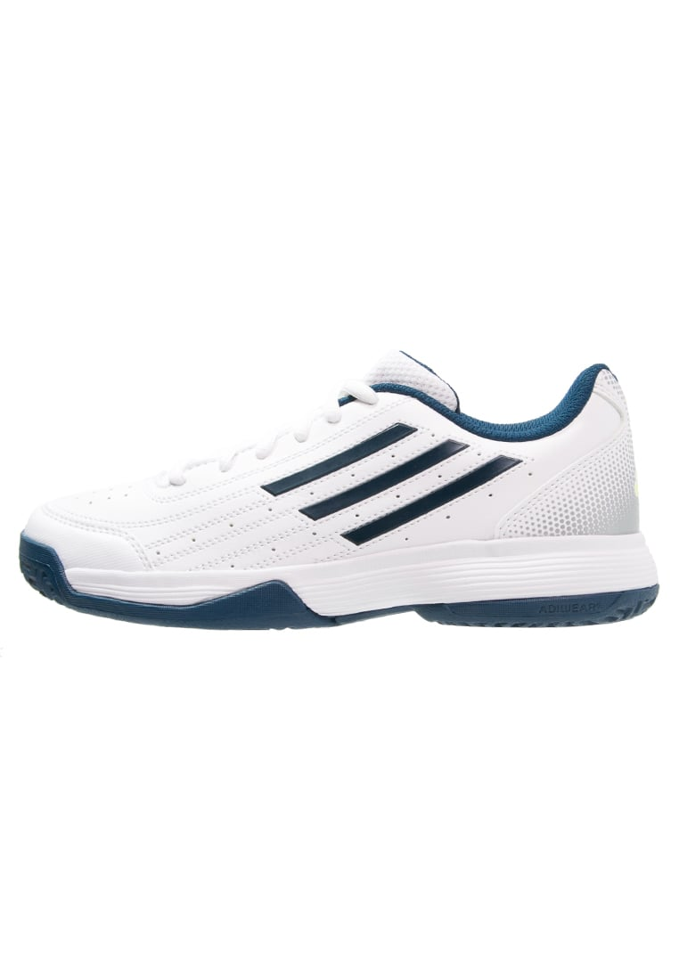 adidas Performance SONIC ATTACK Buty do tenisa Outdoor white/tech steel/matte silver - IVB32