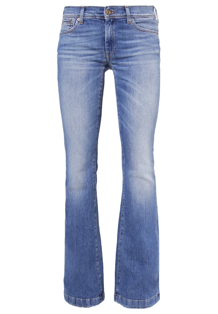 7 for all mankind CHARLIZE Jeansy Bootcut lightblue denim - SY5L540
