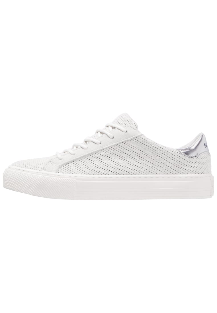 No Name ARCADE SNEAKER PUNCH Tenisówki i Trampki white fox dove - ARCADE SNEAKER PUNCH