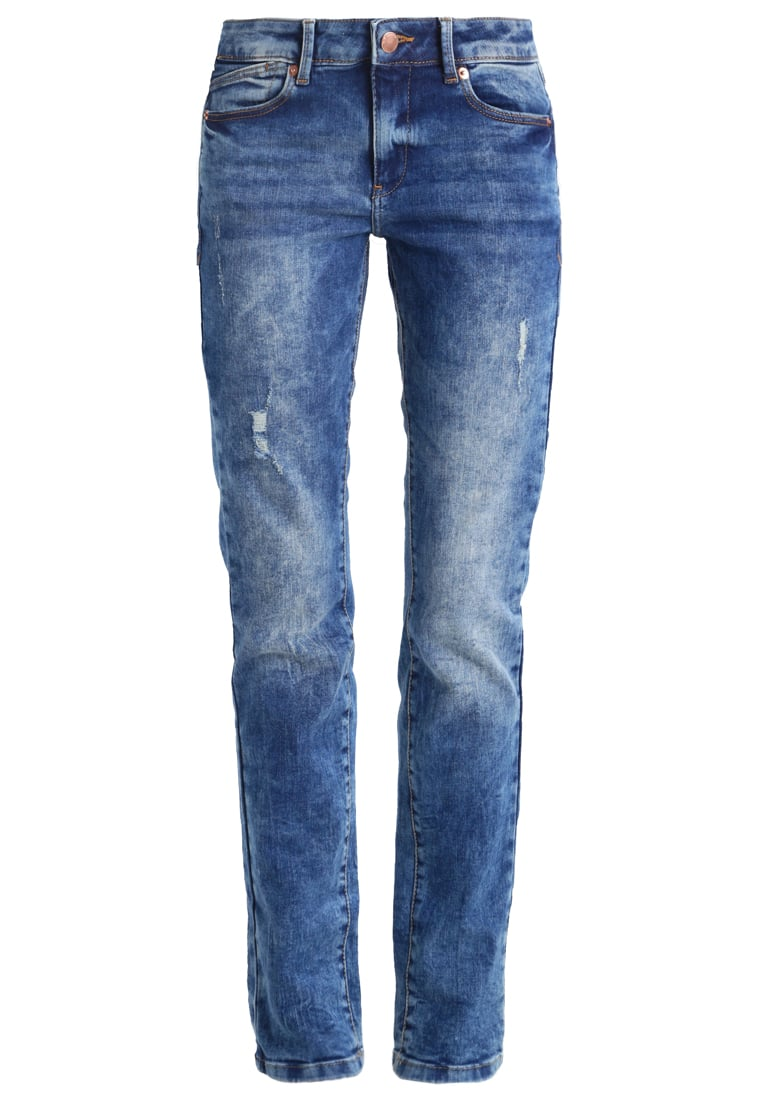 Q/S designed by Jeansy Slim fit blue denim/heavy stone - 45899710425
