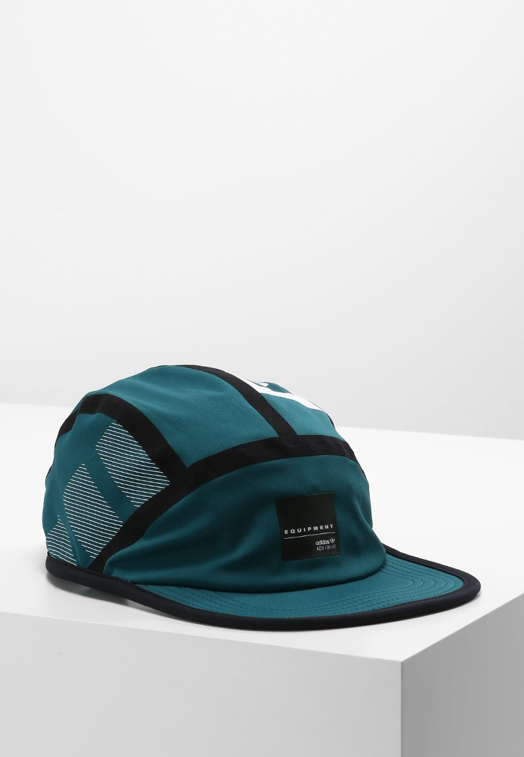 adidas Originals 5 PANEL Czapka z daszkiem mystery green/black/white - ELR11