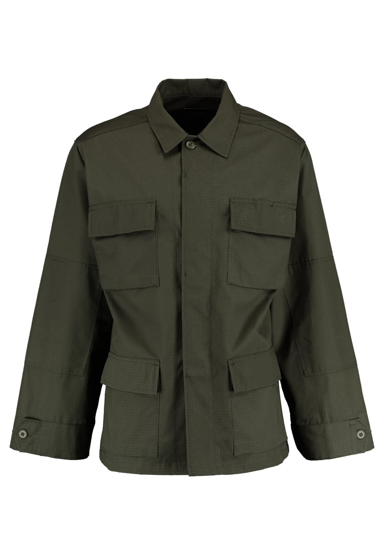 12 Midnight MILITARY WITH BACK PRINT Kurtka wiosenna khaki - ZMJ06