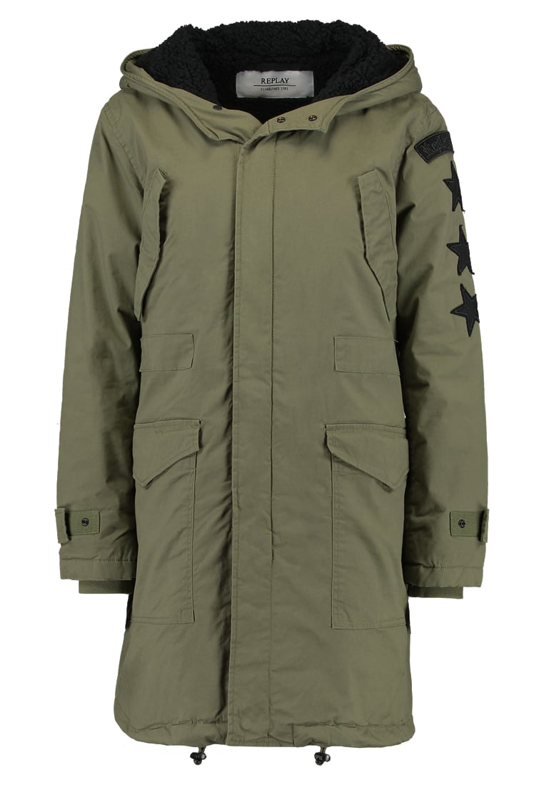 Replay Parka olive