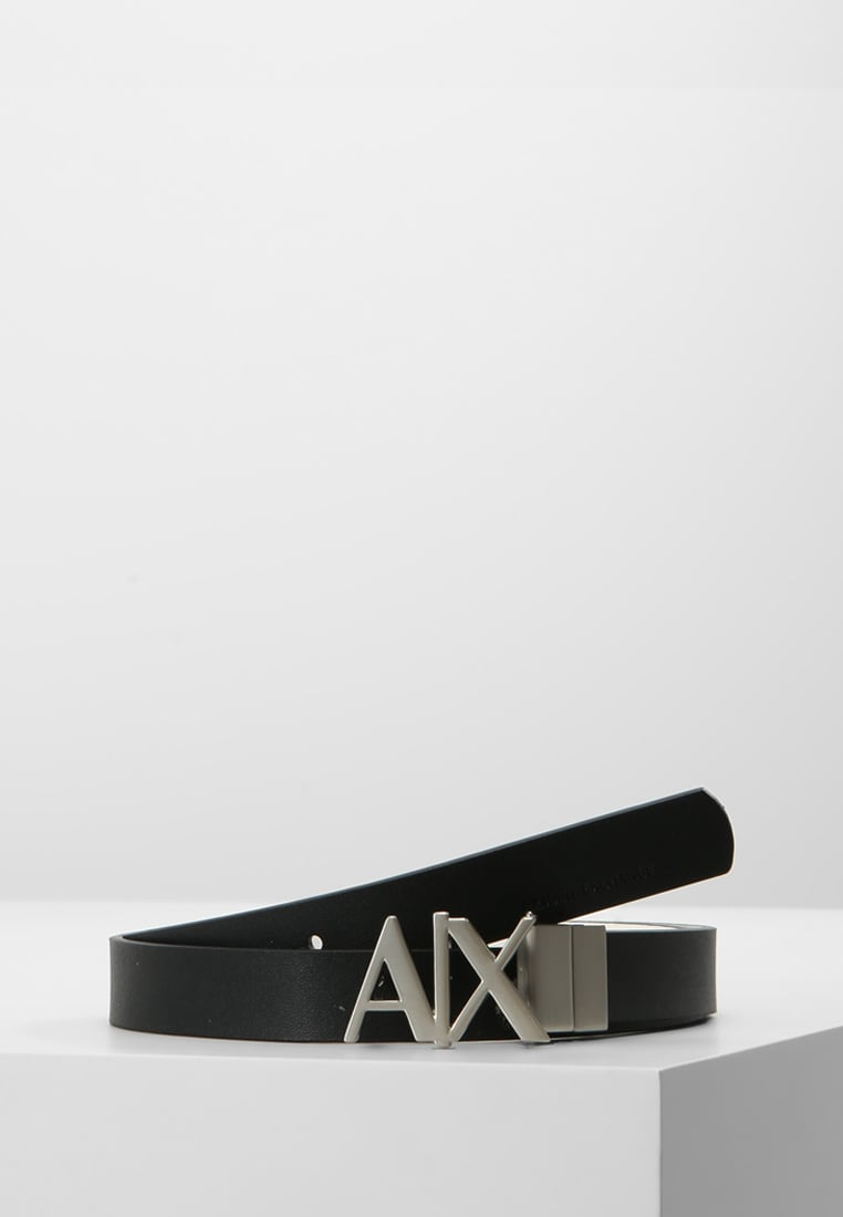 Armani Exchange Pasek black/white - CC702