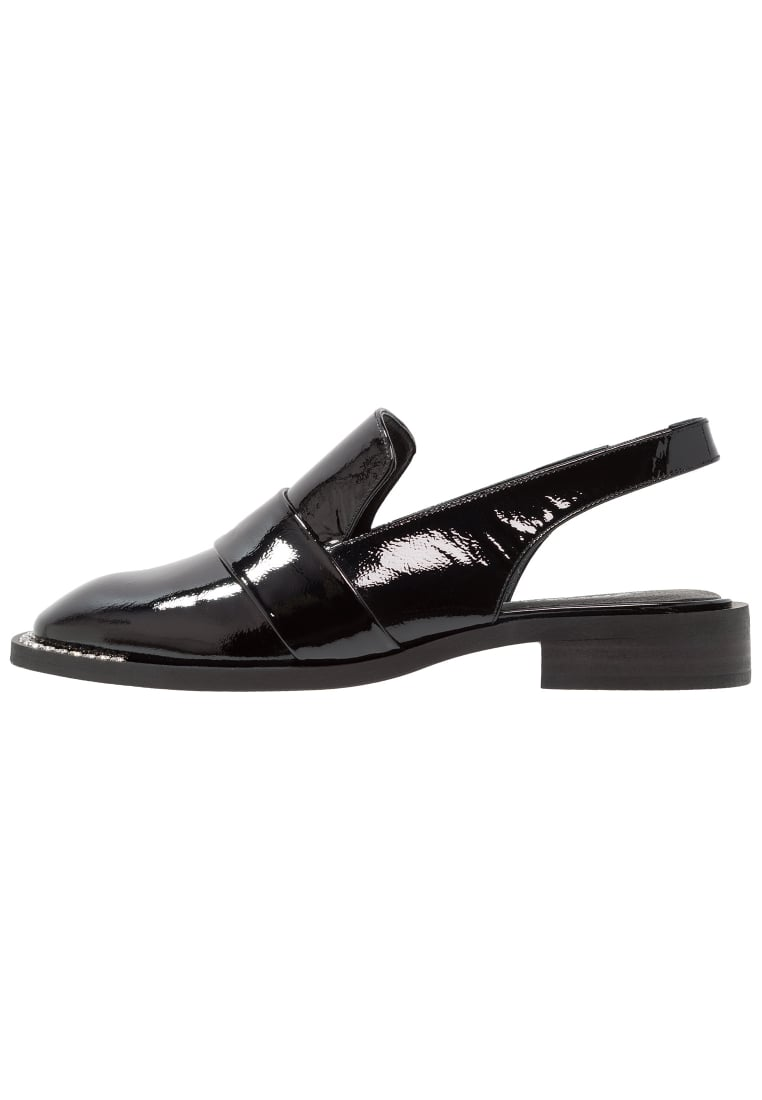 Free People ABBEY ROAD SLINGBACK Półbuty wsuwane black - OB652968