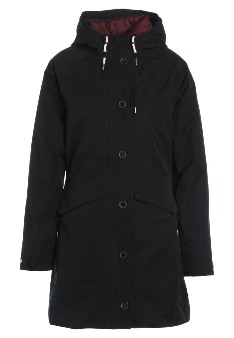 Craghoppers 3IN1 Parka black/wildberry - CWP980