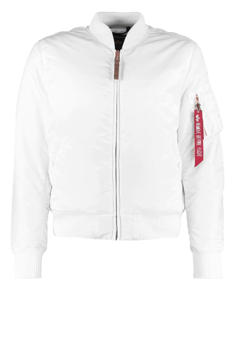 Alpha Industries 59 PRECIOUS METALL Kurtka Bomber white - 168101