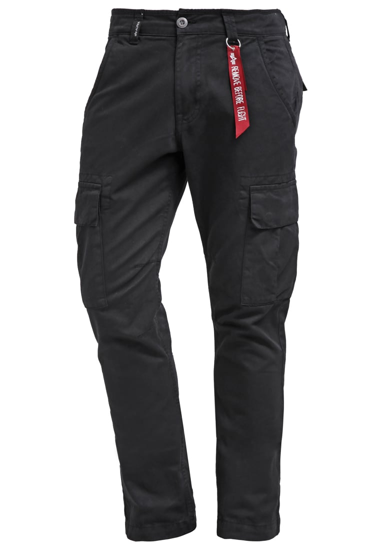Alpha Industries AGENT Bojówki black - 158205