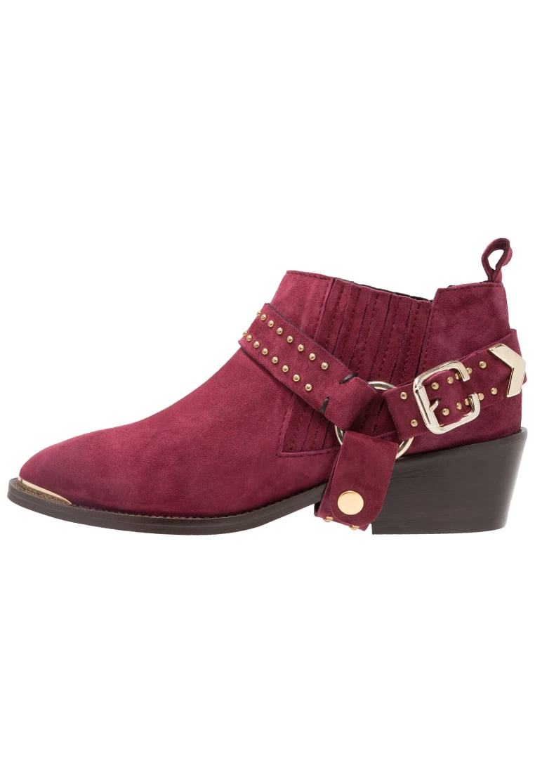 Gardenia EBBA Ankle boot wine - Ebba