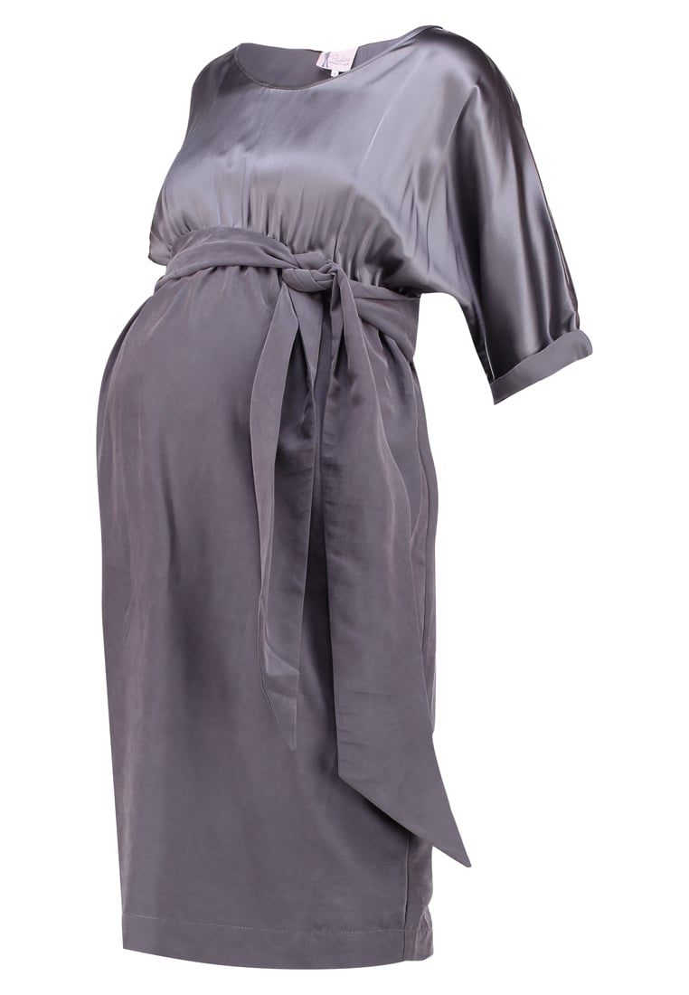Paulina DOWN BY LAW Sukienka letnia grey - 01DR041P01096