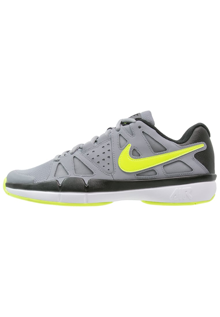Nike Performance AIR VAPOR ADVANTAGE Buty do tenisa Outdoor volt/black/dark grey/white - 599359