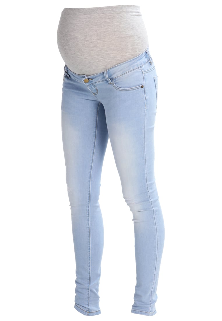 MAMALICIOUS MLALEXA Jeansy Slim fit light blue denim - 20007262