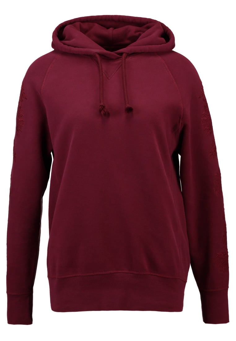 Levi's® Made & Crafted LMC FLEECE HOODY Bluza z kapturem tawny port - 34415
