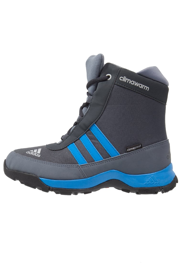 adidas Performance CLIMAHEAT ADISNOW CLIMAPROOF Śniegowce dark grey/shock blue/onix - IKN31