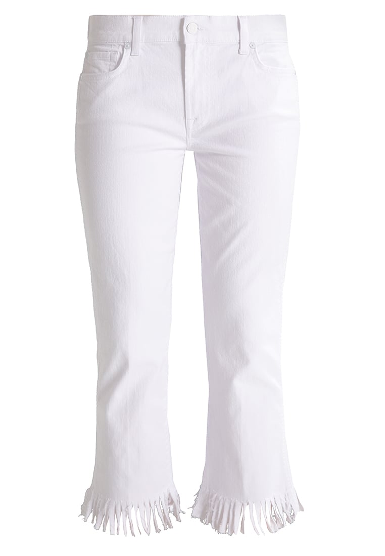 7 for all mankind Jeansy Bootcut white denim - SYRV030