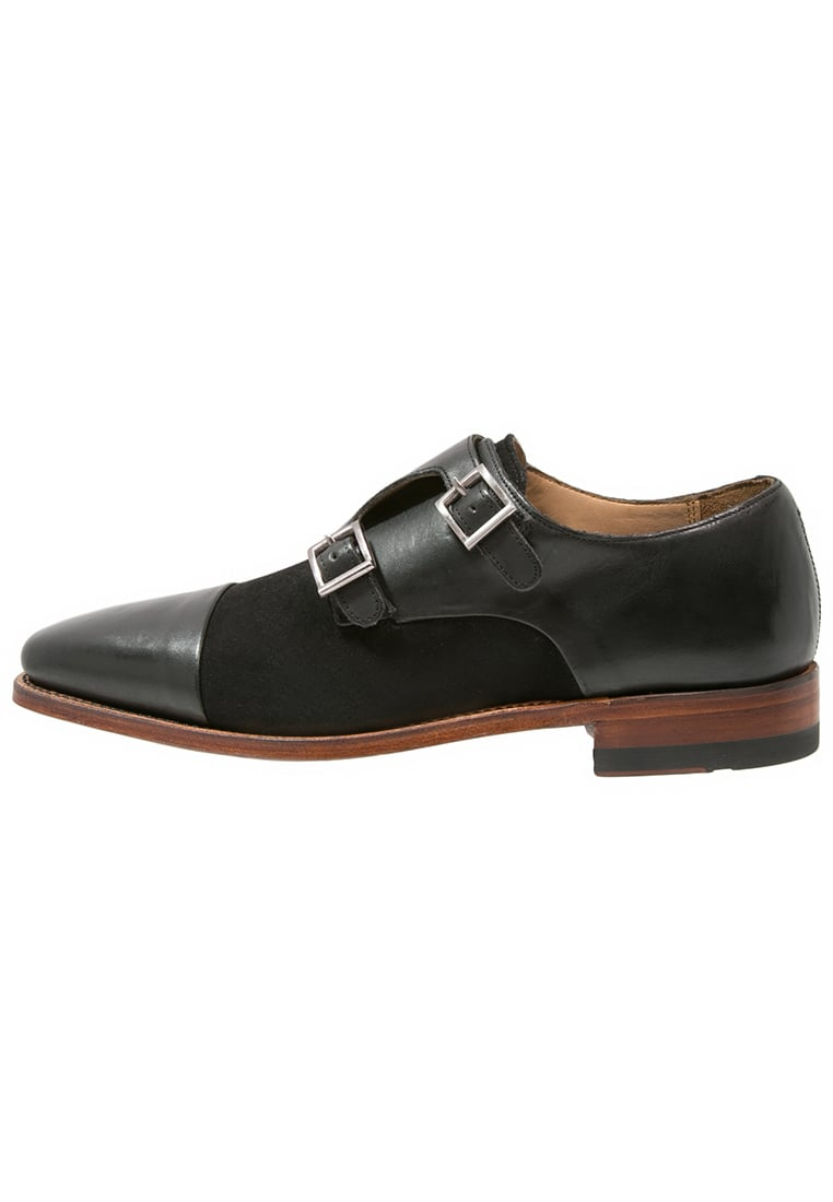 Gordon and Bros LUCQUIN Półbuty wsuwane black - 4924i