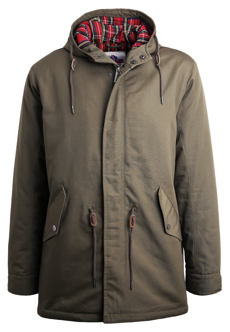 HARRINGTON JIMMY Parka kaki - PARKA JIMMY
