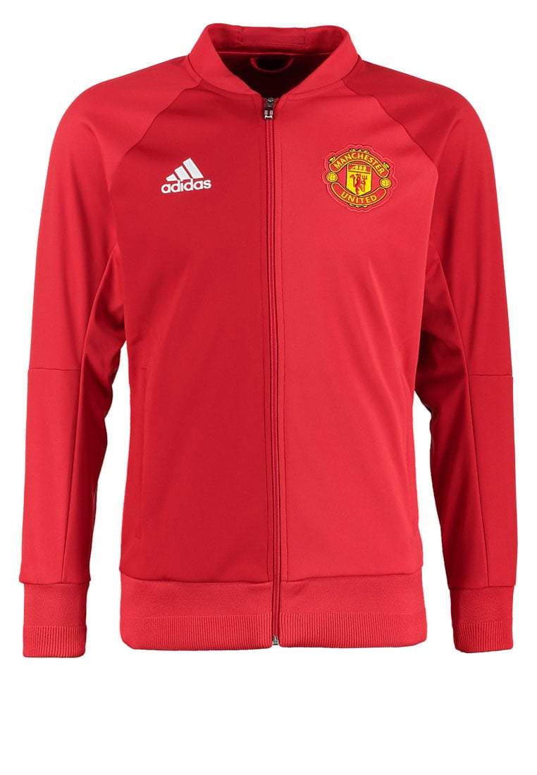 adidas Performance MANCHESTER UNITED Kurtka sportowa power red/real red - BJU55