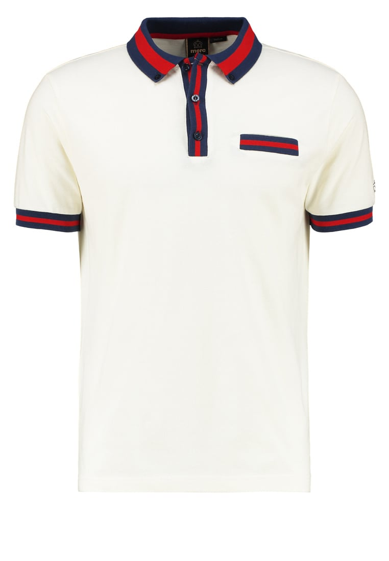 Merc COWLEY Koszulka polo off white - 1917109