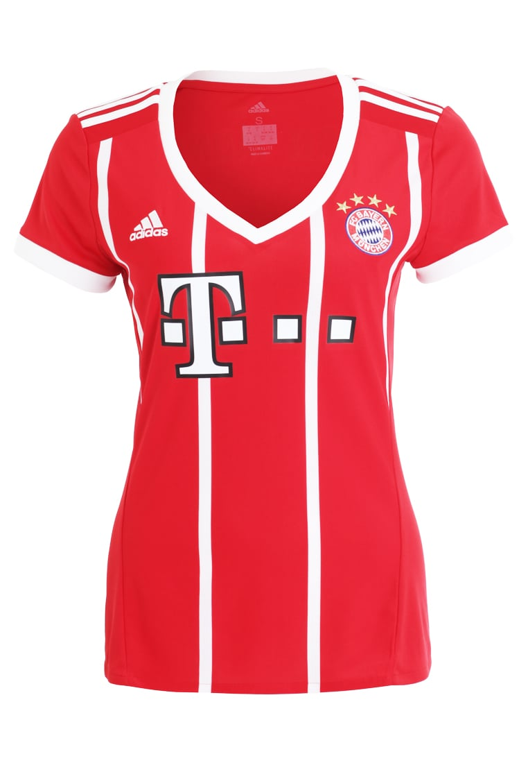 adidas Performance FC BAYERN MÜNCHEN HOME Artykuły klubowe red - BV743