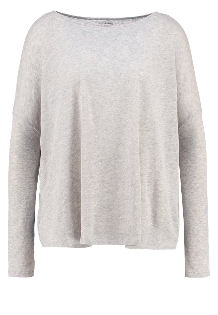 Majestic Sweter gris chine clair - H1605-15