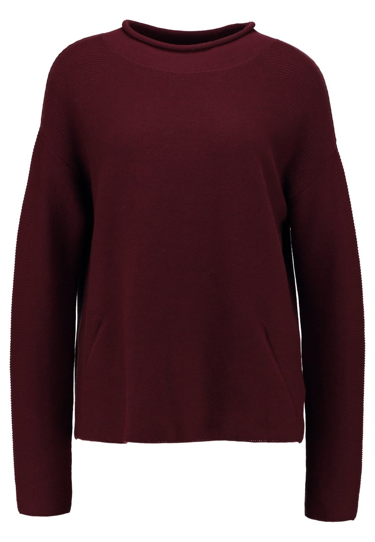 Betty & Co Sweter autumn red