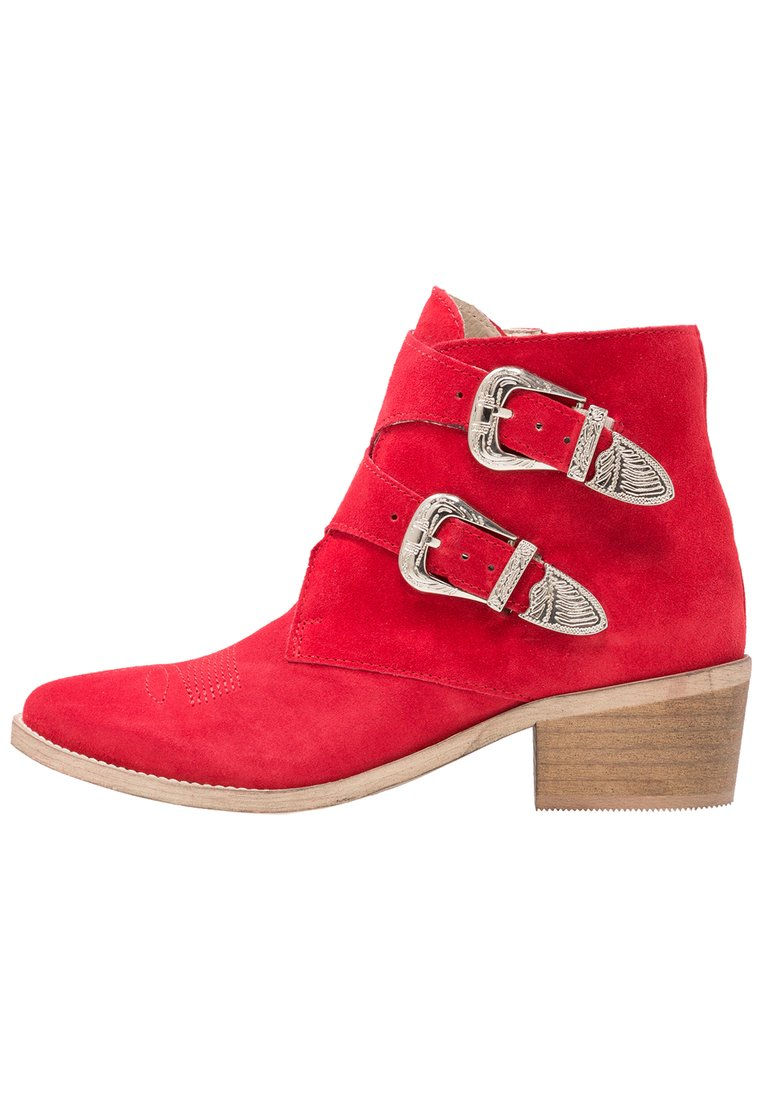Pavement CARINA Ankle boot red - 16304