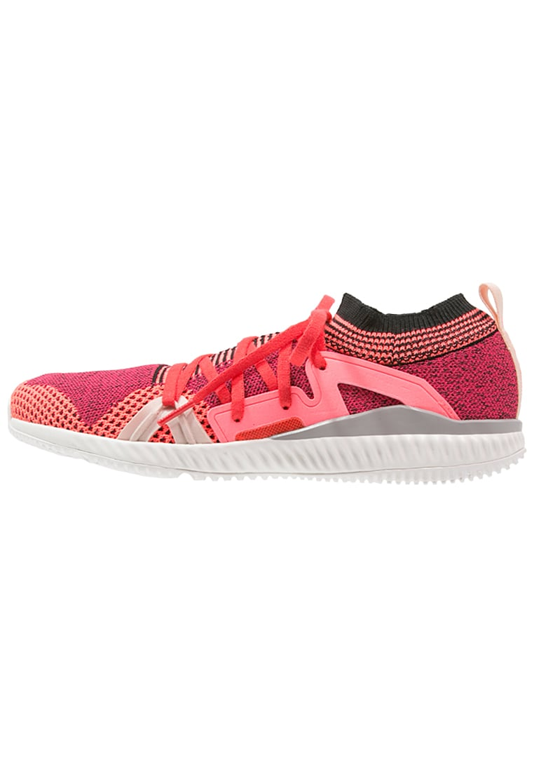 adidas by Stella McCartney EDGE TRAINER BOUNCE Buty treningowe pink/turbo/red