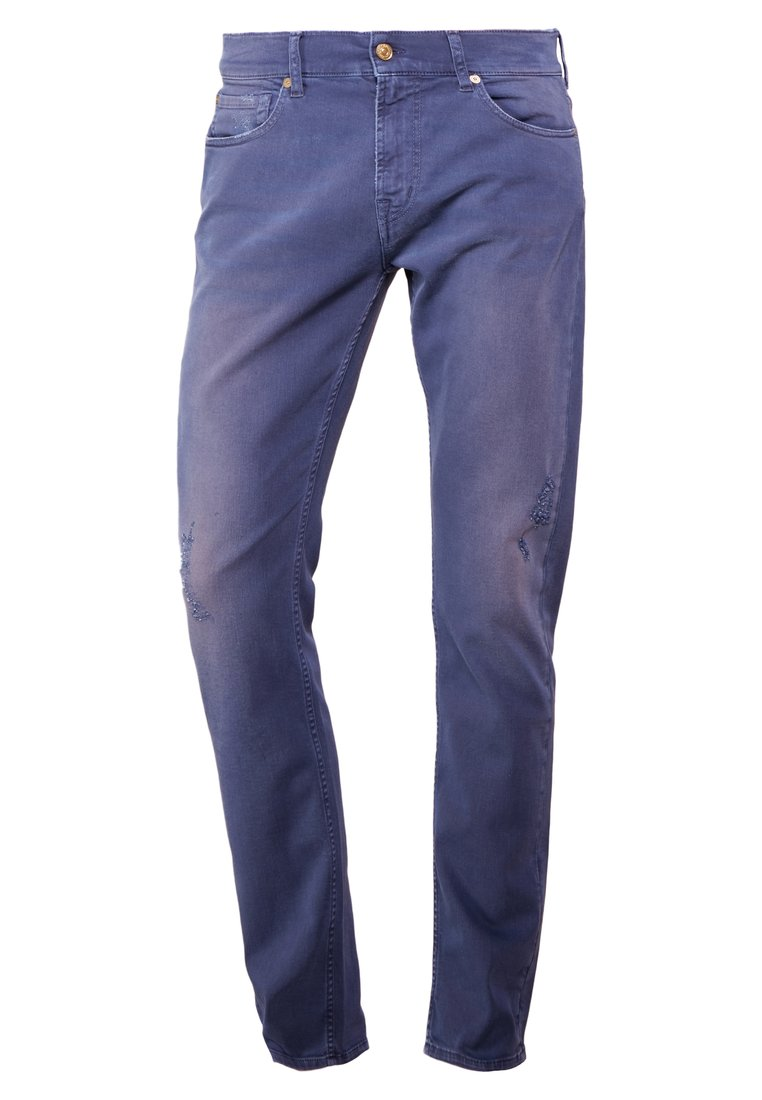 7 for all mankind RONNIE Jeansy Slim Fit blue washed - JSD4V510